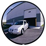 "See All SNO12 Convex Mirror, Shatter Resistant Glass Face, Outdoor Use, 12"" Diameter"