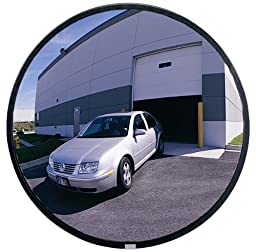 See All PLXO26 Circular Acrylic Heavy Duty Outdoor Convex Security Mirror, 26\