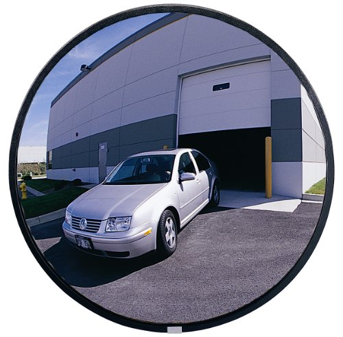 "See All NO12 Circular Glass Heavy Duty Outdoor Convex Security Mirror, 12"" Diameter (Pack of 1) from SeeAll"