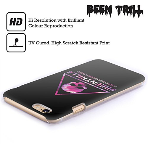 Official Been Trill Triangle Skull Colourful Prints Hard Back Case for Apple iPhone 6 Plus / 6s Plus