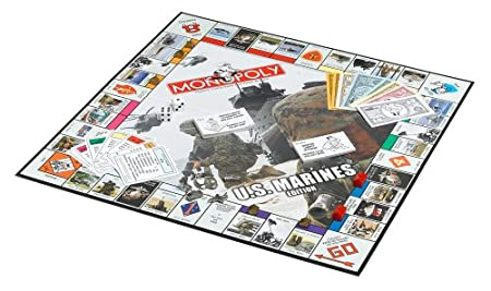 Amazon com  US Marines Monopoly  Toys   Games. Marine Corps Themed Room. Home Design Ideas