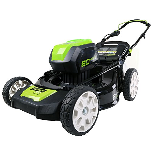 Greenworks Pro 80V 21-Inch Cordless Lawn Mower, Battery Not Included, GLM801600