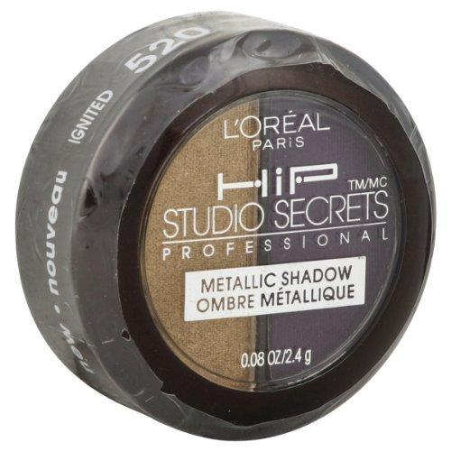 L'oreal Hip Studio Secrets Professional Metallic Shadow, Ign