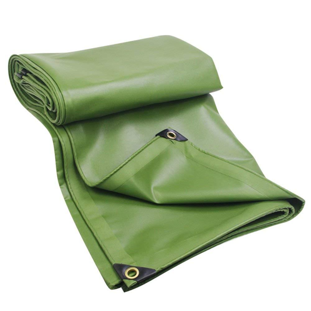 Waterproof Cloth Home Außenzelt Plane Wasserdichte Sonnencreme im Freien Zelt Tuch Pflanze Sonnencreme Winddicht staubdicht weich warm, grün (Farbe   Grün, Größe   2X1.5M)