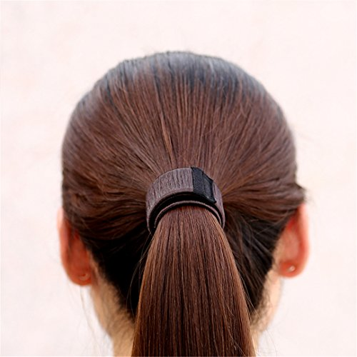 DIY Women Hair Accessory Ladies Foam Hair Band Wrap Styling Tool light brown by HAHUHERT (Image #5)