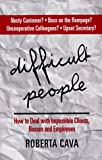 Difficult People, Roberta Cava, 1552091252
