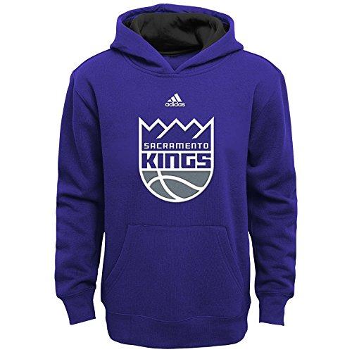 (NBA Youth 8-20 Sacramento Kings Prime Pullover Hoodie -Regal Purple-S(8))