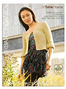 Tahki Yarns Urban Organics Terra Collection 5th Edition Pattern Book By The Each