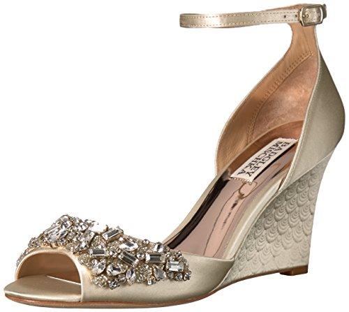 n's Barbara Wedge Sandal, Ivory, 5 M US (Ivory Wedge Shoes)