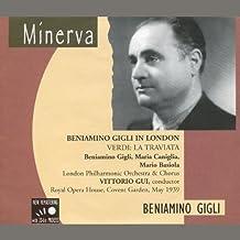 Beniamino Gigli in London - 1939