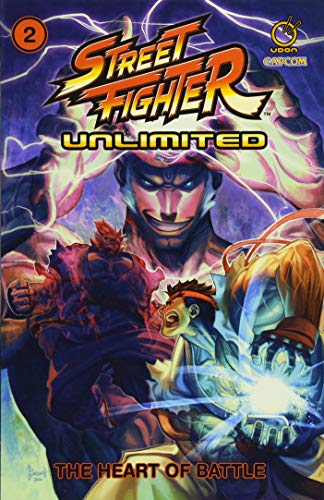 !Best Street Fighter Unlimited Vol.2 TP: The Heart of Battle<br />K.I.N.D.L.E