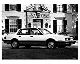 1984 Pontiac 6000 STE Automobile Photo Poster