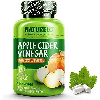 Amazon.com: NATURELO Apple Cider Vinegar Capsules - Keto