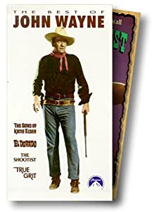 The Sons of Katie Elder [USA] [VHS]: Amazon.es: John Wayne ...