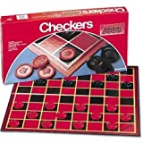 Pressman Toy Checkers Board Games - 2 Pack