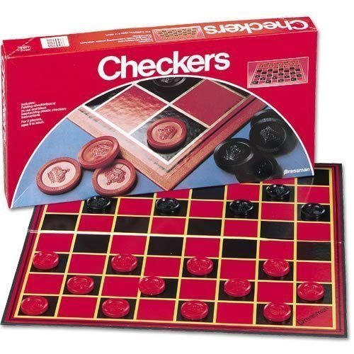 Pressman Toy Checkers Board Games - 2 Pack by Pressman