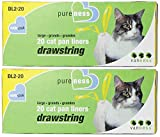 Large Drawstring Valu-Pak Cat Pan Liners, 20 Count (Pack of 2) Total 40