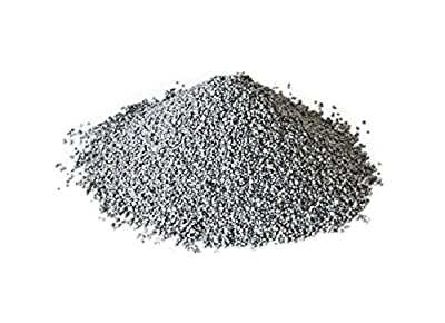 Hosley's Silver Decorative Sand, 500 Grams LARGE Pack. Ideal for Party, Wedding decoration, Anniversary, Votive Candle Gardens 18 K
