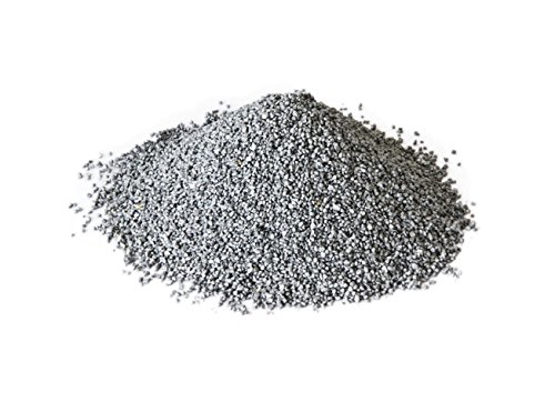 Hosley Silver Decorative Sand 500 Grams Large Pack Ideal for Party Wedding Decorations Anniversary Votive Candle Gardens or as Vase FIllerK9