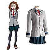Mocona My Hero Academia Tsuyu School Uniform Cosplay Costume