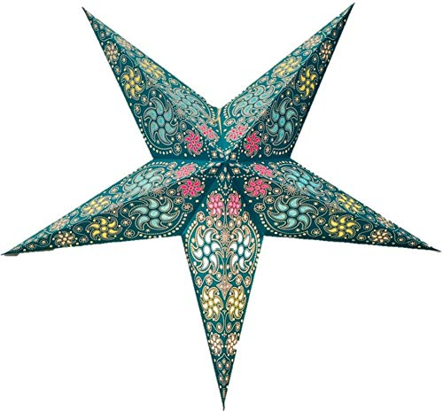 Chakra Paper Star Lantern by UMTA (Sea Green) ()