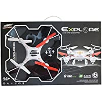 A&N RC Quadcopter Remote Control Drone 360 Degree Radio Control Aircraft 6-Axis 2.4GHz 6 Chanel S48