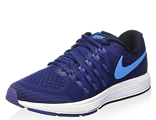 2026ec0ce604 Galleon - Nike Mens Zoom Vomero 11 Running Shoe Loyal Blue Light Blue White Fountain  Blue 13