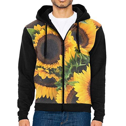 Unisex Casual Long Sleeve Zipper up Hoodies Sweatshirts 3D Print Large Faceplate (Faceplate Design Print)