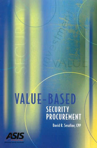 Read Online Value-Based Security Procurement pdf epub