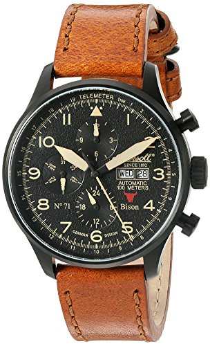 Ingersoll Men's IN1513BBK Bison No. 71 Analog Display Automatic Self Wind Brown Watch