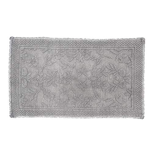 "Used, Rachel Ashwell Crochet Tub Mat 21"" W x 34"" L Smoke for sale  Delivered anywhere in USA"