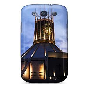 Awesome Design Liverpool Cathedral Hard Case Cover For Galaxy S3
