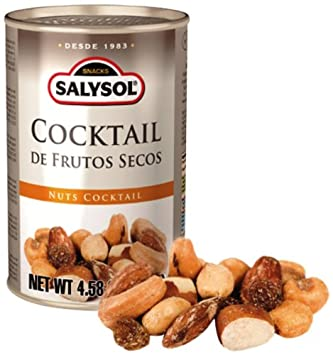 Salysol Nuts Cocktail, 12 Count