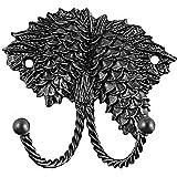 Sierra Lifestyles Decorative Hook, Pinecone, Black