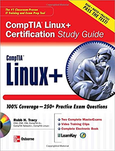 comptia linux certification study guide robb h tracy rh amazon com CompTIA Security CompTIA Org