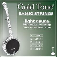 Gold Tone BSL Light Gauge Banjo Strings