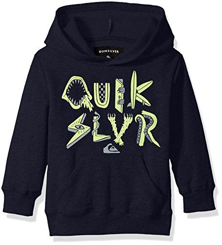 Quiksilver Little Boys' Toddler Monster Parts Hoody, Navy Blazer, 4T