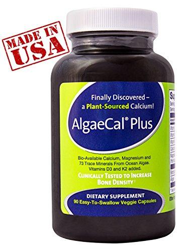 Meilleur calcium Supplément ● AlgaeCal Plus est un produit naturel, à base de plantes supplément de calcium et de construction des os Formule ● augmente la densité osseuse sans effets secondaires ● pour les femmes et les hommes 45 ans et plus la recherche