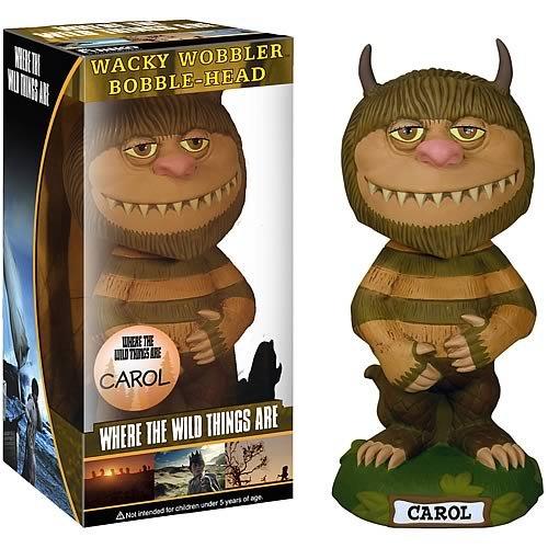Carol - Where The Wild Things Are - Movie - Wacky Wobbler Bobble-Head