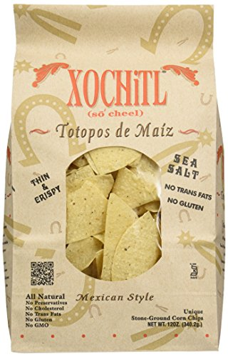 Xochitl Corn Chips, Salted, 12 oz by Xochitl