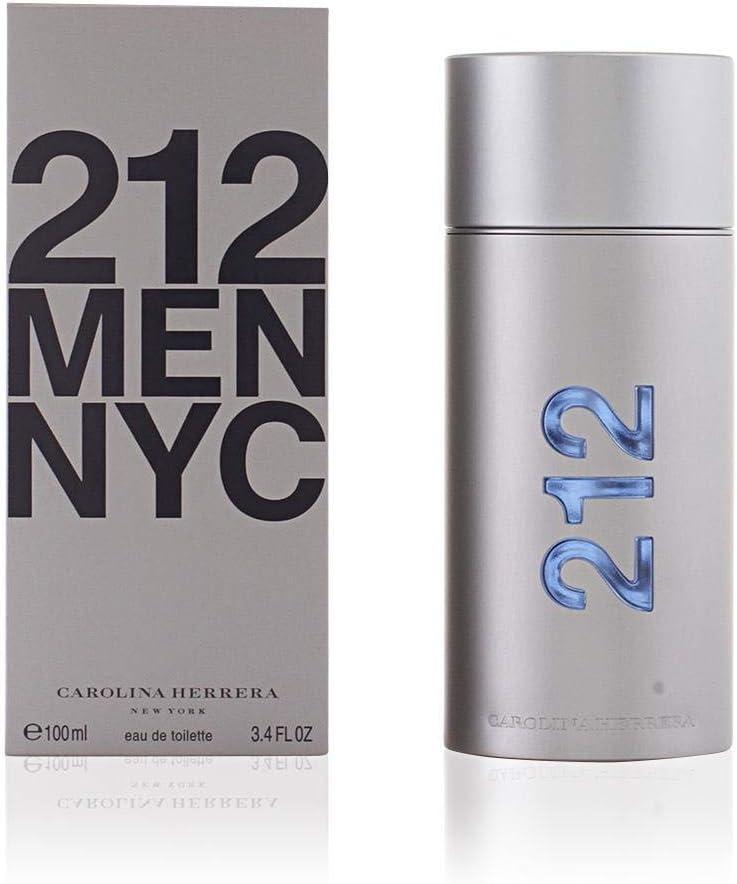 Carolina Herrera 212, Agua de perfume para hombres - 100 ml.