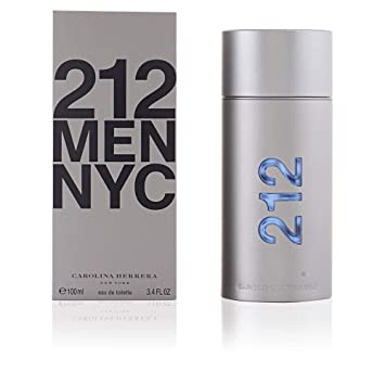 5366ed2ec0 Amazon.com : 212 By Carolina Herrera For Men. Eau De Toilette Spray 3.4  Ounces : Deodorants And Antiperspirants : Beauty