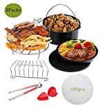 Befound Upgrade 8 Inch Air Fryer Accessories Kit, Fit for 2...