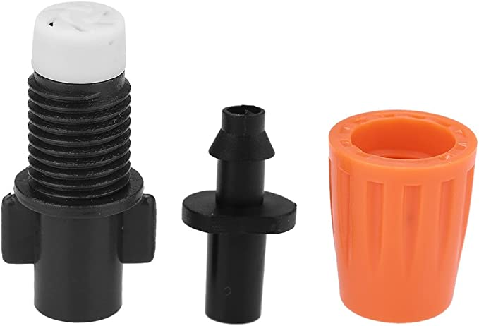 atomizzatore testa di irrigazione 50 pezzi ugelli di nebulizzazione per irrigazione a goccia 2 modalit/à regolabili: nebulizzatore dacqua e colonna dacqua ugelli per nebulizzazione a spruzzo