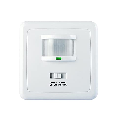 flush mounted motion sensor 2 wire 160 u00b0 suited for leds