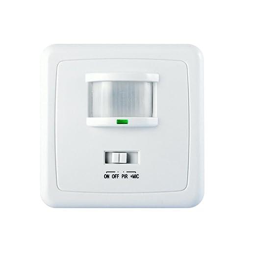 3 opinioni per Maclean Energy MCE18 -Rilevatore di movimento con sensori a infrarossi a 160°,