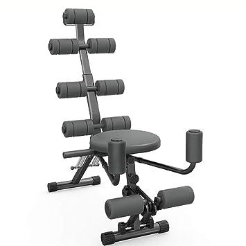 Bancos ajustables Abs Rocket Chair Abdominal All-in-One Fitness Ajustable, Gimnasio Entrenamiento Entrenador Entrenador Ejercitador Máquina de Abdominales ...