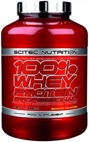 Scitec Nutrition 100% Whey Protein Professional 2350 g Banane