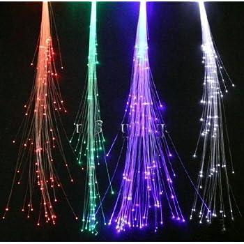 Fiber Optic Blossom Led String Lights Plug In Multi Color : Amazon.com: Wiedamark 200 Strand LED Fiber Optic Star Ceiling Kit: Home Improvement