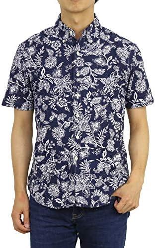 (ポロ ラルフローレン) POLO Ralph Lauren メンズ ボタンダウン アロハシャツ 半袖シャツ スリムフィット 0104442 [並行輸入品]